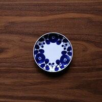 白山陶器  波佐見焼  ブルーム リース   プレートSS  北欧デザイン  11cm