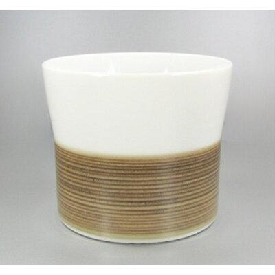 (麻の糸・セピア)(フリーカップ)(白山陶器)(波佐見焼)(ロックグラス)(8.5×7cm)(240ml)