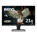 BenQ 23.8型ゲーミングモニター EW2480 IPS/ フルHD/ HDR/ 高音質スピーカー/ 5ms/ FreeSync/ フレームレス/ ブルーライト軽減/ 輝度自動調整B.I.+/ HDMI2.0x3
