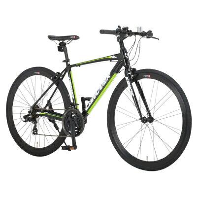 クロスバイク 700c 自転車 シマノ21段変速 軽量 アルミフレーム CANOVER カノーバー CAC-028 KRNOS10