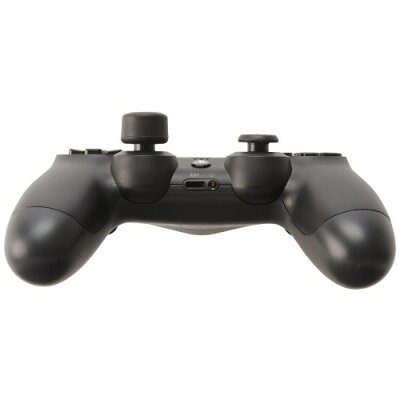 PS4用 アナログスティックカバー ねこにゃんHIGHタイプ 黒 サイバーガジェット
