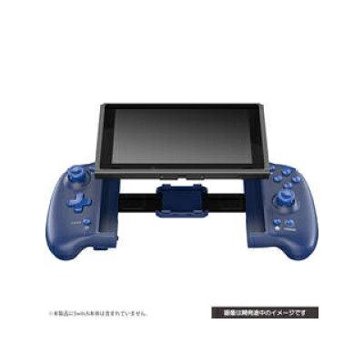 ダブルスタイルコントローラー ブルー Switch用 サイバーガジェット