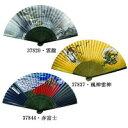 縁起の良い日本画扇子 せんす 37837・風神雷神 1031963