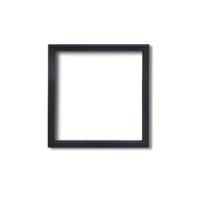 角額正方形額細いフレーム壁掛けひも 5432 120角120×120mm黒