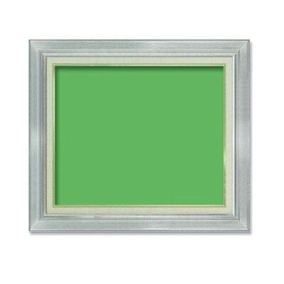 油額 油絵額キャンバス額金の油絵額銀の油絵額 号530×410mm シルバー