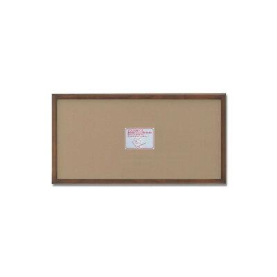 長方形額 木製額 縦横兼用額 前面アクリル仕様 高級木製長方形額 600×300mmブラウン_