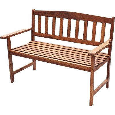 武田コーポレーション 木製ガーデンベンチ MA-120BC
