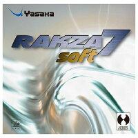 ヤサカ(Yasaka) 裏ソフトラバー ラクザ7 ソフト 90 クロ CA B77