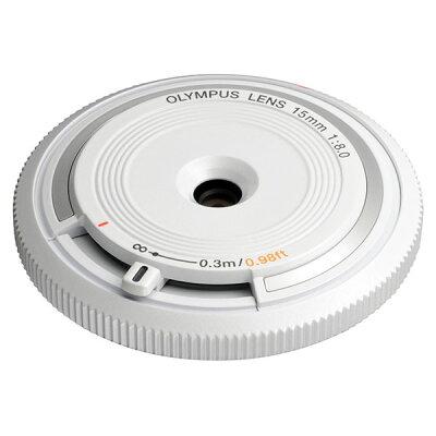OLYMPUS ボディキャップレンズ BCL-1580 ホワイト
