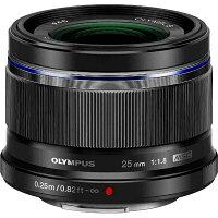 OLYMPUS 交換レンズ M.ZUIKO DIGITAL M25F1.8 ブラック