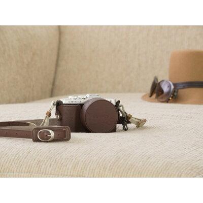 オリンパス 本革ボディージャケット CS-45B BRW ブラウン