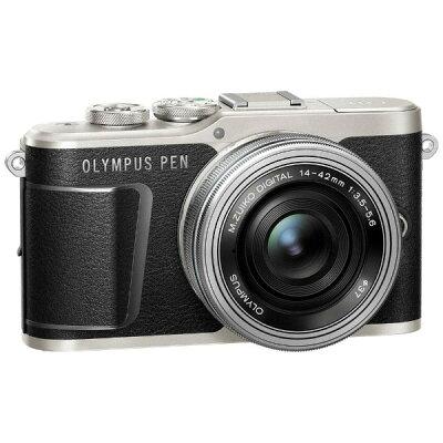 OLYMPUS ミラーレス一眼 PEN E-PL9 14-42 EZ レンズキット BLACK