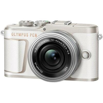 オリンパス E-PL10 14-42mm EZレンズキット ホワイト(1台)