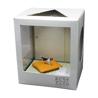 みにちゅアニマル ネコのいる空間 1/12 和室の情景 レン CATA-4