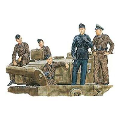 1/35 WW.II ドイツ武装親衛隊 戦車兵タイガーエース ノルマンディー 1944 プラモデル 再販 ドラゴンモデル