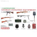 1/16 WW.II ドイツ軍 小火器・装備品セット プラモデル 再販 ドラゴンモデル