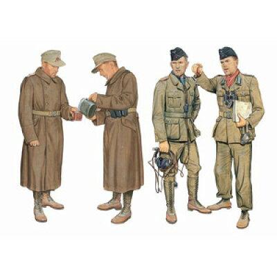 1/35 WW.II ドイツアフリカ軍団 DAK 戦車兵&コートを着た兵士 リビア 1941 ドラゴンモデル DR6693 ドイツアフリカ ヘイシ