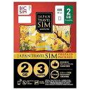 IIJ Nano SIM BIC SIM JAPAN TRAVEL SIM/2GB Prepaid・Data only・SMS unavailable IM-B189