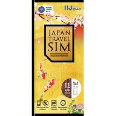 Japan Travel SIM 1.5GB Type I IM-B281