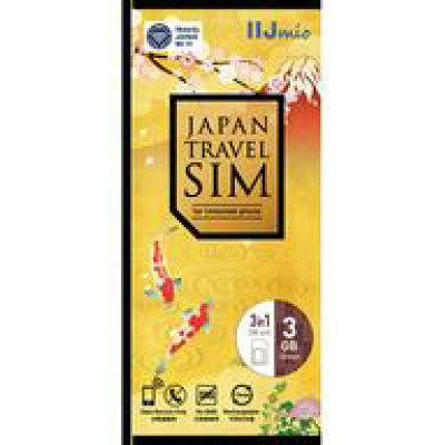 Japan Travel SIM 3GB Type I IM-B282