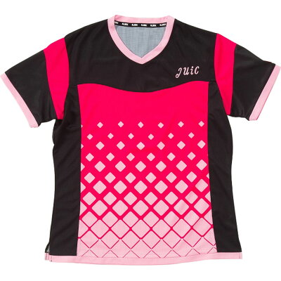 JUIC ジュイック 卓球ゲームシャツ・パンツサーフα レディース 卓球用ウェア5569ピンク