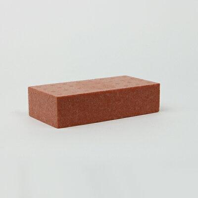 発泡スチロールブロック K-レンガ ブラウン サイズ:200×100×50mm 6147356