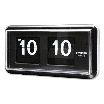 TWEMCO TWEMCO (トゥエンコ) 掛け時計 置き時計 兼用 QT-30 Black