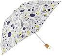 korko/コルコ 折りたたみ傘 クイックオープン折りたたみ傘 レディース 大好きなガーデン
