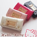 HK26-6LPK HelloKittyキーケース ライトピンク/ハローキティ/財布/ウォレット/カギ