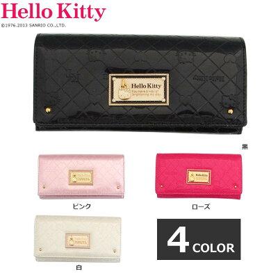 ハローキティ レディースウォレット かぶせ付LF束入 ピンク /薄いピンクHK26シリーズ