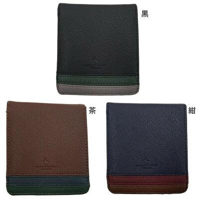 ケンブリッジユニバーシティポロクラブ メンズ財布 二つ折り財布 PO9-3