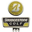 ブリヂストンブリヂストンゴルフ キャップマーカー ブラック×イエロー GAG401BY GAG401BY