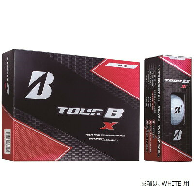 TOUR B ゴルフボール TOUR B X パールホワイト 8BGXJ