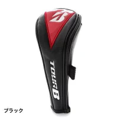 ブリヂストン ツアービー HCG820 メンズ ゴルフ ユーティリティー用ヘッドカバー TOUR B ブラック BRIDGESTONE