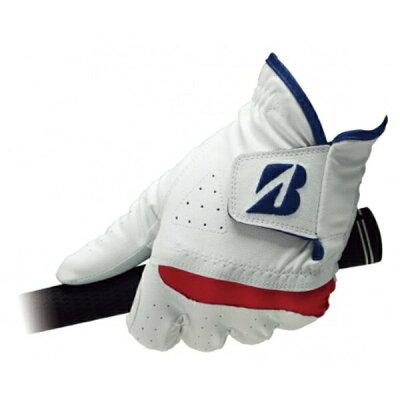 ブリヂストン メンズ 左手用ゴルフグローブ TOUR B SOFT GRIP(23cm/ホワイト) GLG94J
