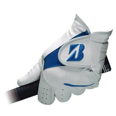 TOUR B GLG95J WB 24 ブリヂストンゴルフ メンズ・ゴルフグローブ 左手用 ホワイト/ブルー・サイズ:24cm BRIDGESTONE ULTRA GRIP