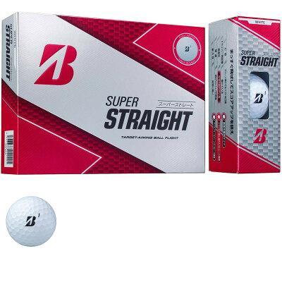 ブリヂストンゴルフボール SUPER STRAIGHT  12球入り
