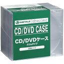 ジョインテックス cd/dvdケース スリム   a401j-10