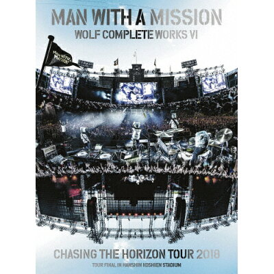 Wolf Complete Works VI ~Chasing the Horizon Tour 2018 Tour Final in Hanshin Koshien Stadium~(初回生産限定盤/DVD/SRBL-1840