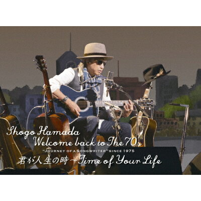 """Welcome back to The 70's""""Journey of a Songwriter""""since 1975「君が人生の時~Time of Your Life」(完全生産限定盤)/Blu-ray Disc/SEXL-222"""