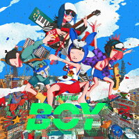 BOY(初回生産限定盤)/CDシングル(12cm)/BVCL-1187