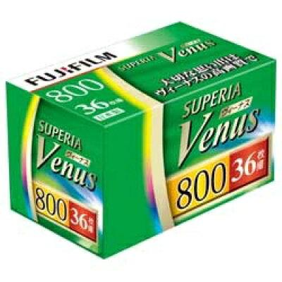 FUJI FILM SUPERIA VENUS800 ネガフィルム 135-36