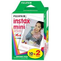 フジフィルム インスタントカラーフィルム インスタックス ミニ 2パック(1コ入)