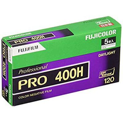 FUJI FILM カメラフィルム PRO400H 120-12 5P