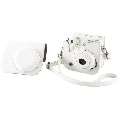 富士フイルム カメラケース(速写ケース) チェキ instax mini 8+用 バニラ(1コ入)