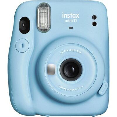 FUJI FILM INSTAX MINI 11 SKY BLUE インスタントカメラ チェキ