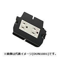 (パナソニック インナーコンセント 電力・情報用1型 アース付コンセント BNC型接栓ジャック DUN1005)