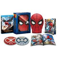 スパイダーマン:ホームカミング ブルーレイ & DVDセット スパイダーマンの目が動く!マスク型ケース仕様
