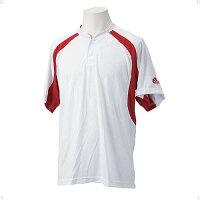 アディダス 11 BB2ボタンベースボールシャツ adj-ra014-o12625
