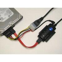 エバーグリーン シリアルATA・IDE(ATAPI)/USB2.0変換アダプター EG-SATA56